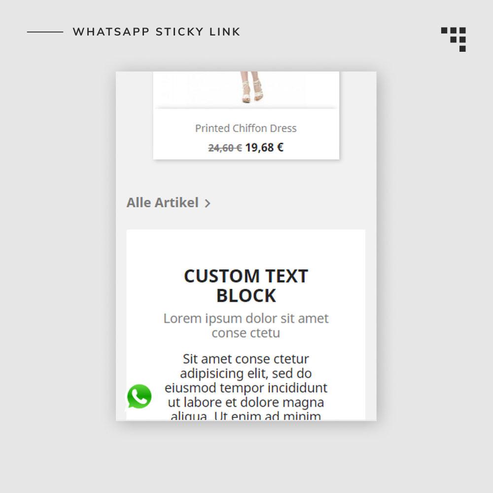 module - Mobile Endgeräte - WhatsApp Sticky Link - 2
