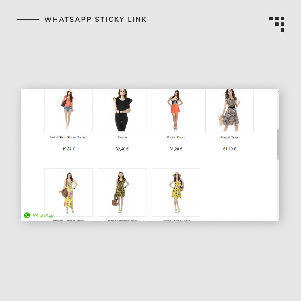 module - Mobile Endgeräte - WhatsApp Sticky Link - 6