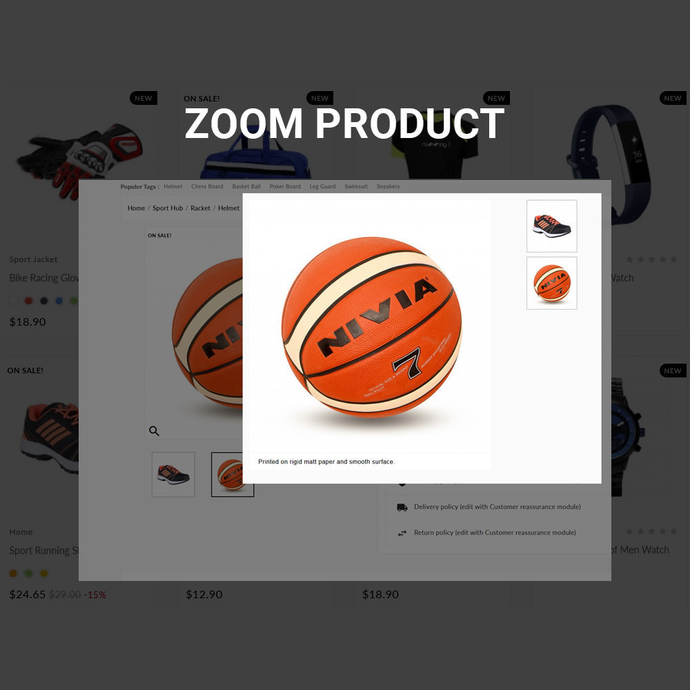 theme - Sports, Activities & Travel - Sports Accessories Shop - 7