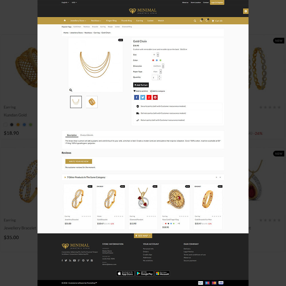 theme - Biżuteria & Akcesoria - The Diamond –Jewelry Mega Shop - 5