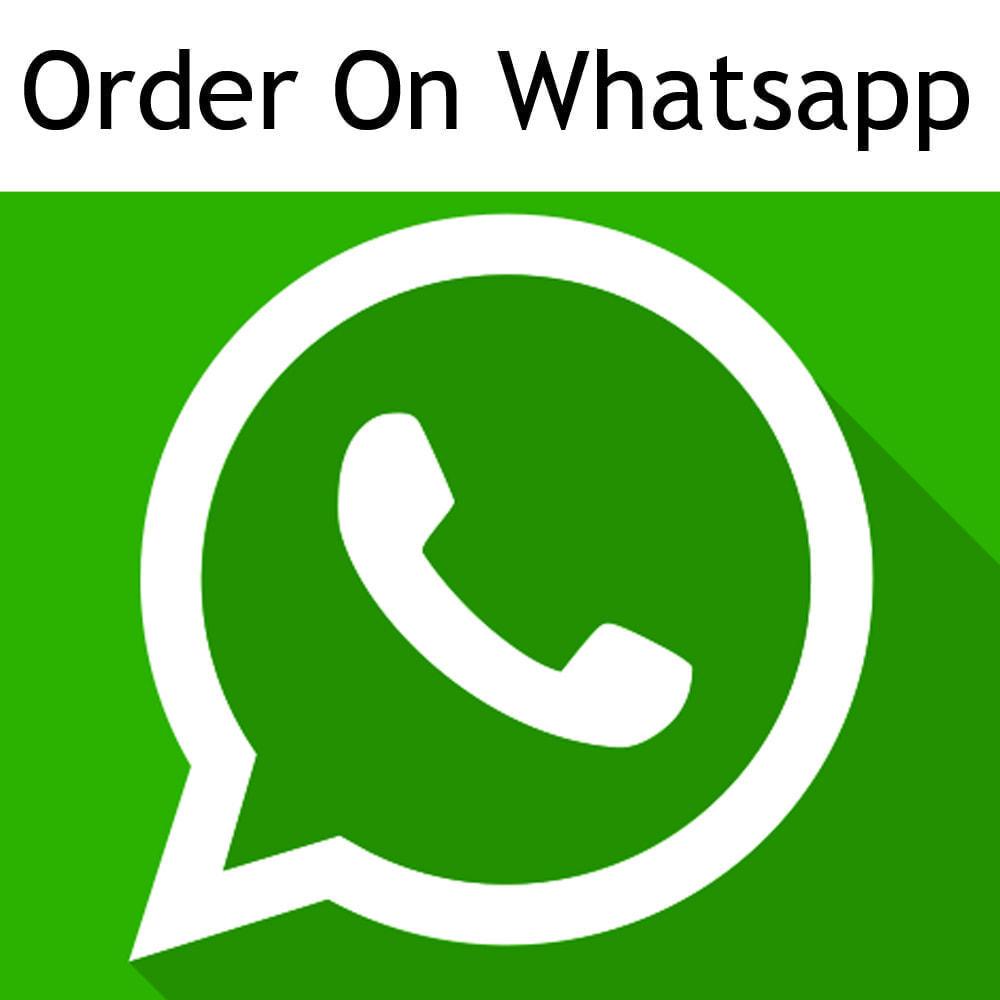 module - Iscrizione e Processo di ordinazione - Ordina su whatsapp da qualsiasi pagina di categoria - 1