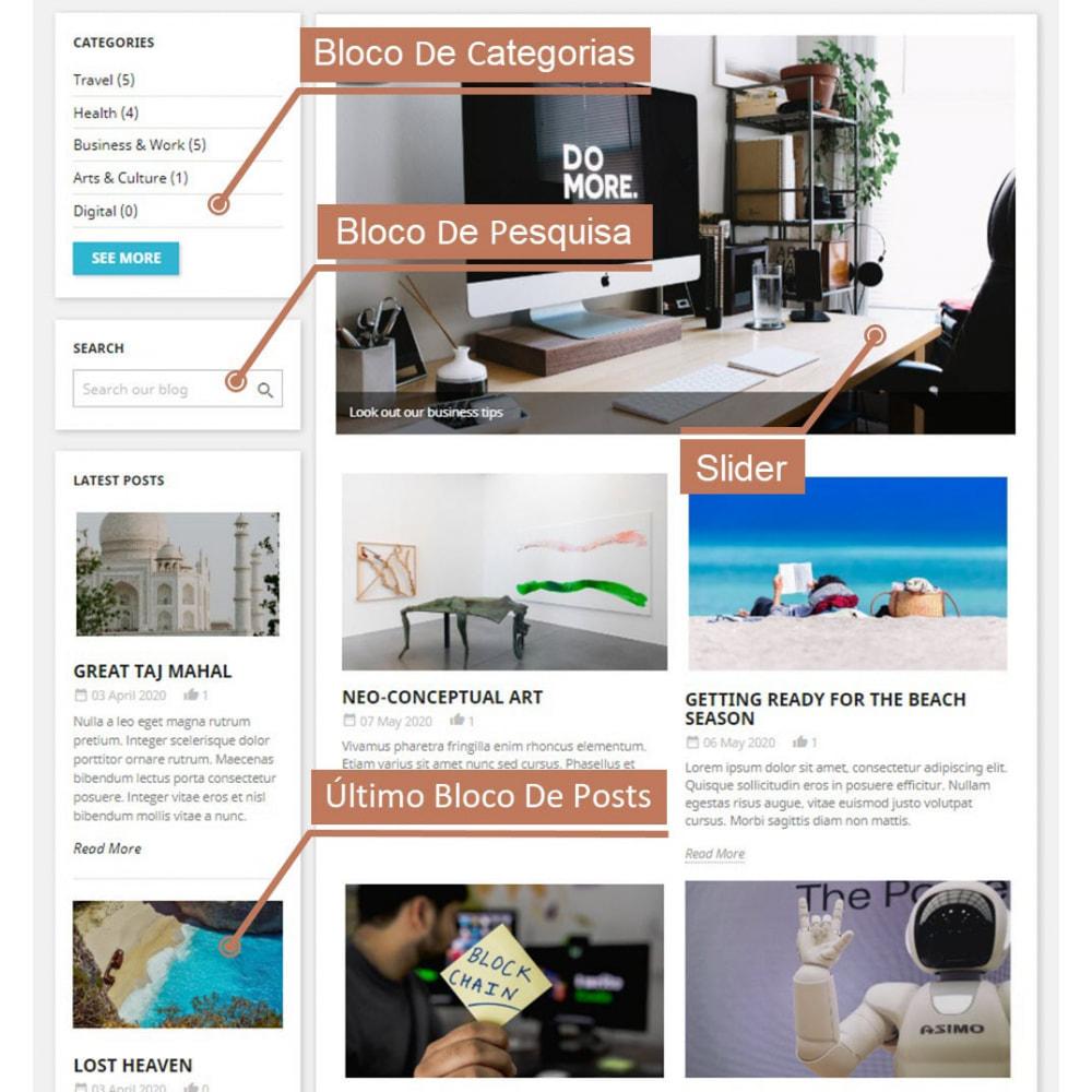 module - Blog, Fórum & Notícias - Business Blog Pro - 1