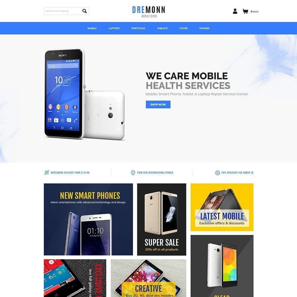theme - Elettronica & High Tech - Mobile Electronics - Laptop Drone Computer Store - 2