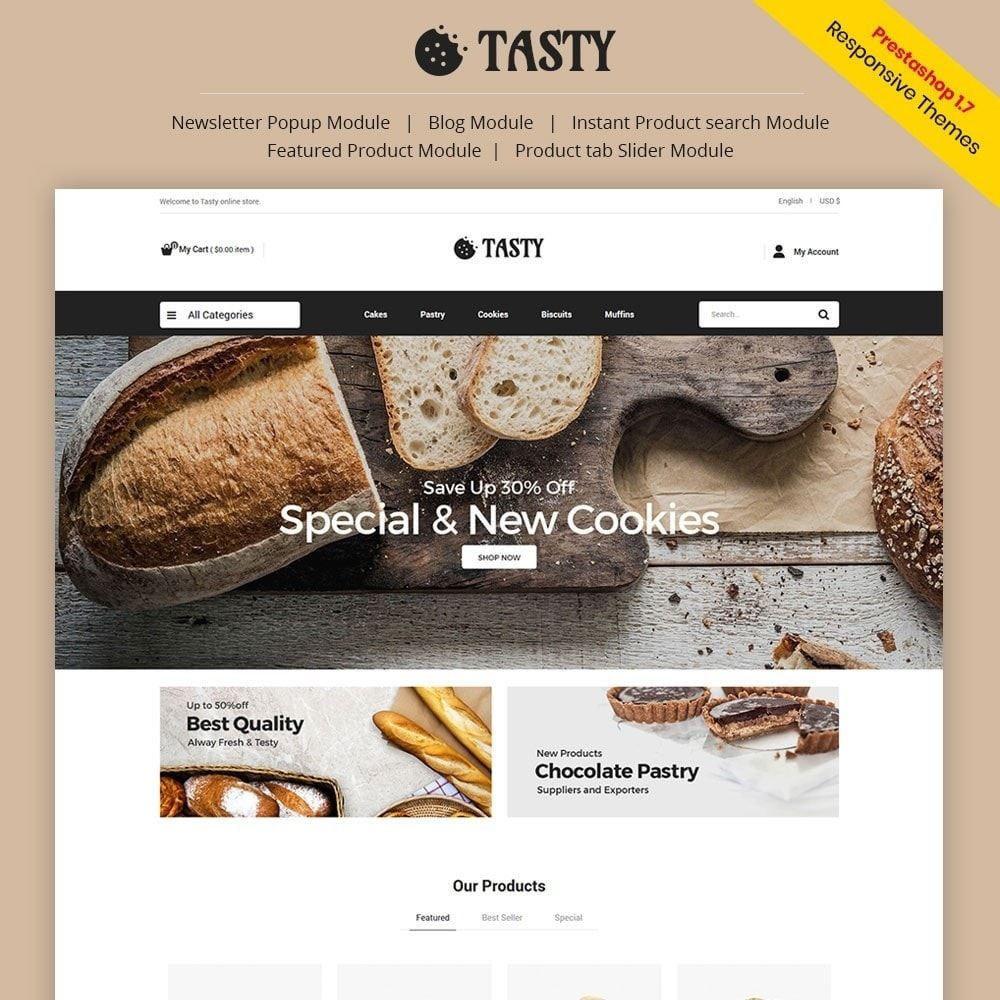 theme - Food & Restaurant - Tasty Bakery  - Pizza Bread Burger Store - 1