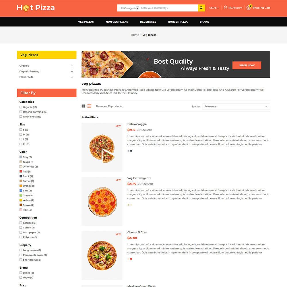 theme - Cibo & Ristorazione - Burger Organic Food - Restaurant Pizza Store - 4