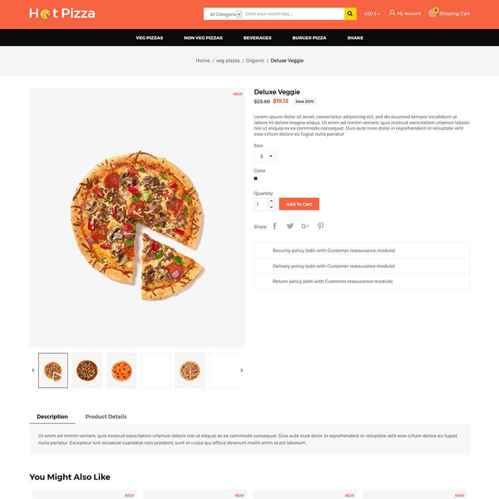 theme - Cibo & Ristorazione - Burger Organic Food - Restaurant Pizza Store - 5