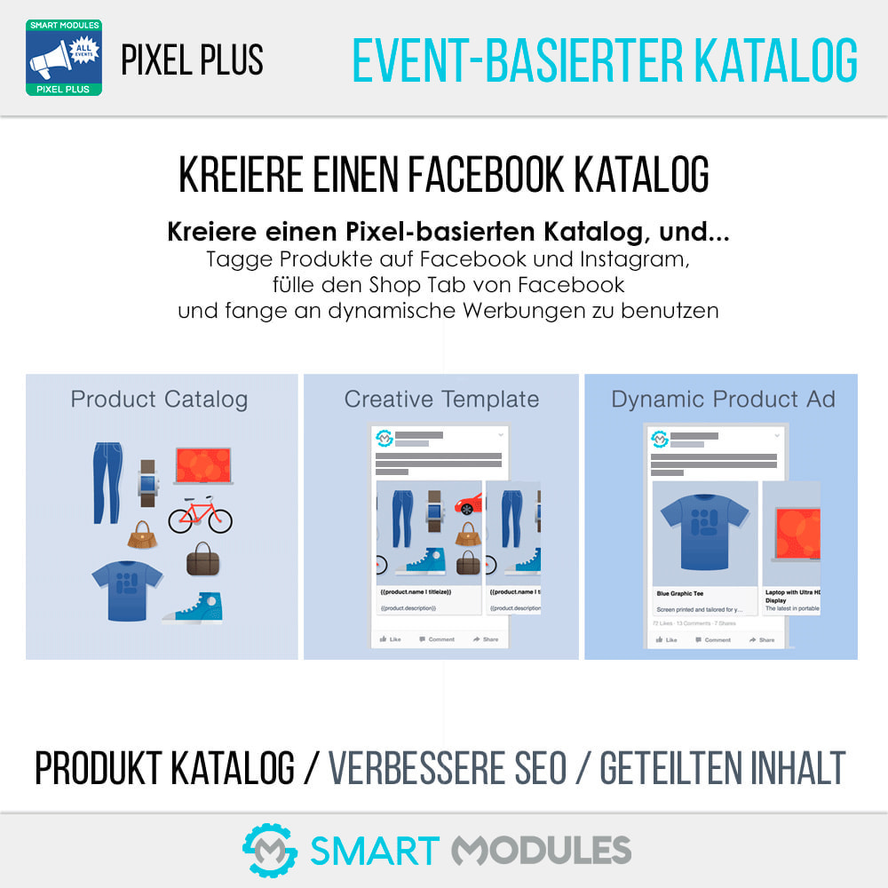 module - Analysen & Statistiken - Pixel Plus: Events Tracking + Pixel Katalog - 7