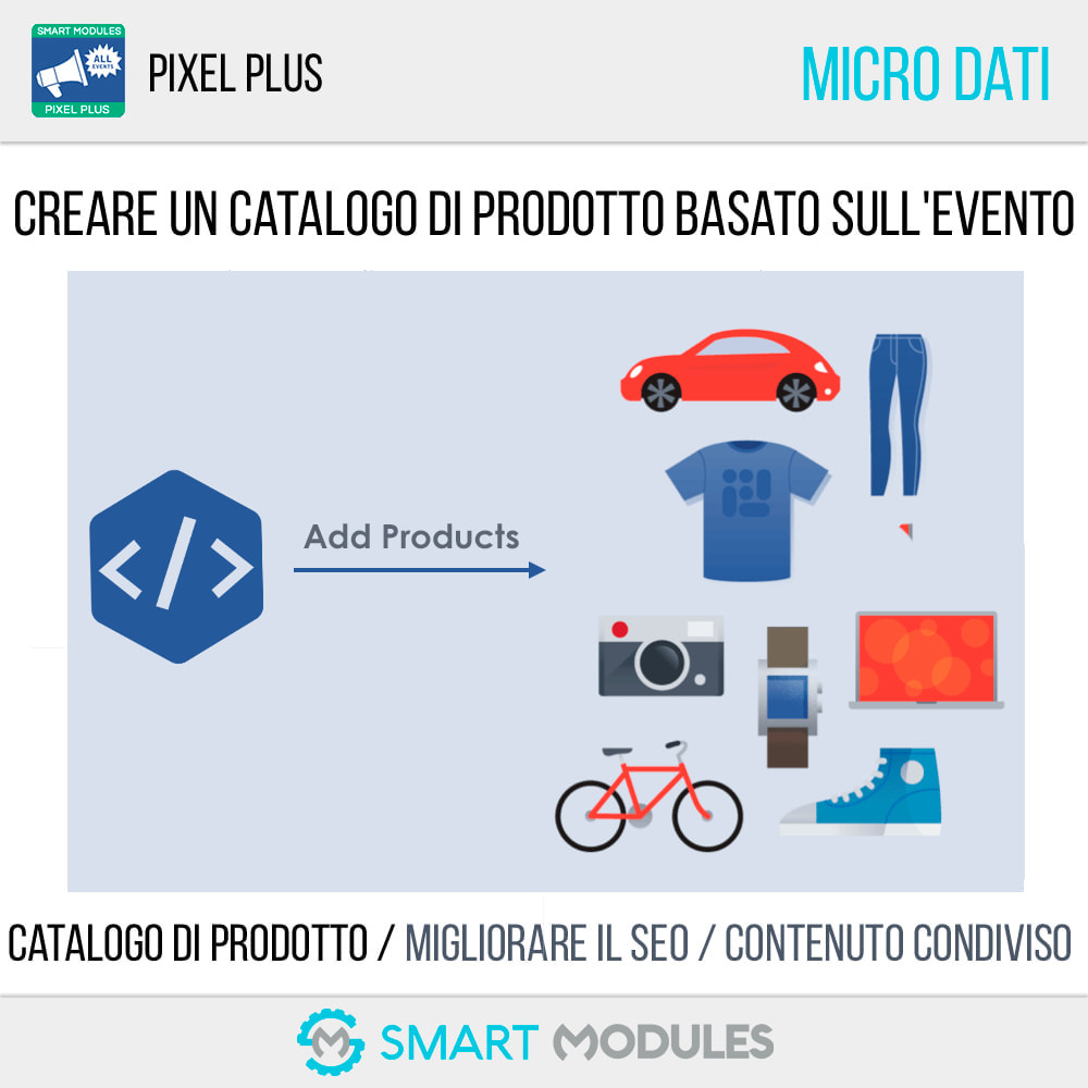 module - Analytics & Statistiche - Pixel Plus: Conversioni ed Eventi + Catalogo Pixel - 6