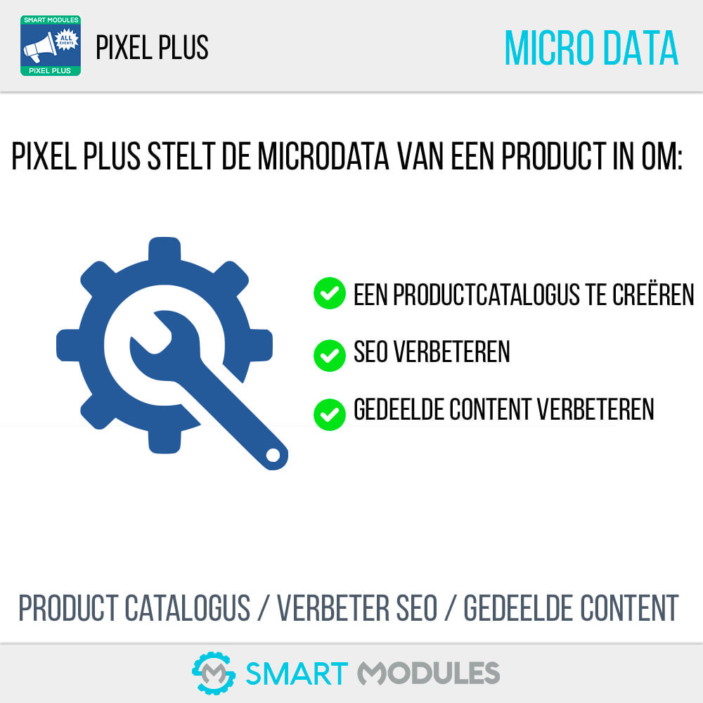 module - Analyses & Statistieken - Pixel Plus: Evenementen + API + Pixel Catalogus - 8