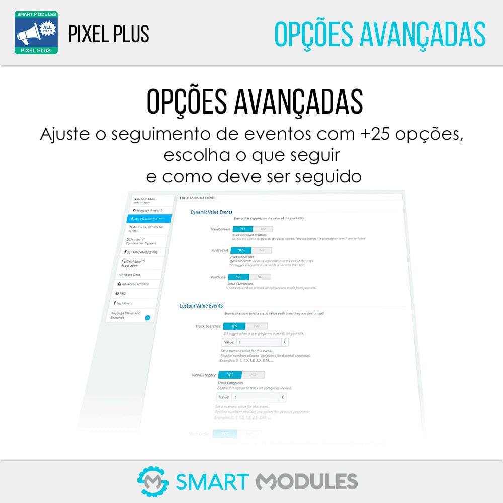 module - Análises & Estatísticas - Pixel Plus: Acompanhamento de eventos + Catálogo Pixel - 4