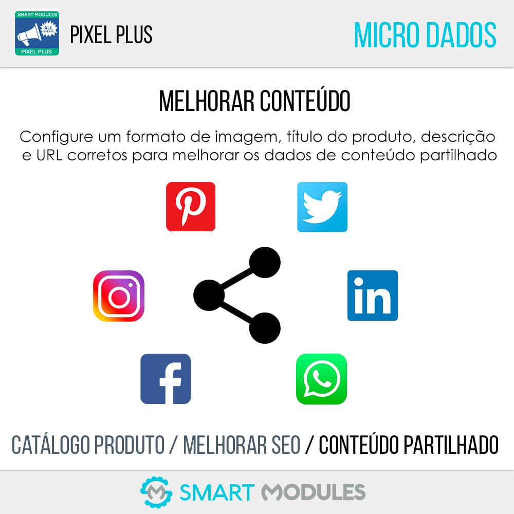 module - Análises & Estatísticas - Pixel Plus: Acompanhamento de eventos + Catálogo Pixel - 9