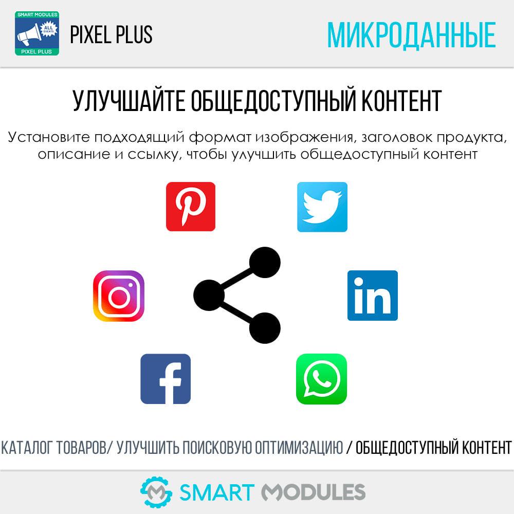 module - Статистика и анализ - Pixel Plus: События + API Конверсия+ Каталог Пиксель - 12