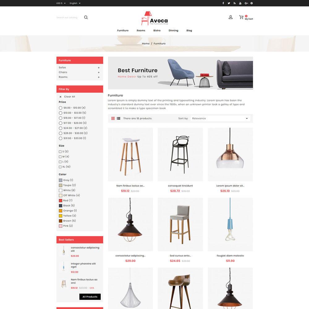 theme - Casa & Giardino - Avoca - Furniture Store - 3