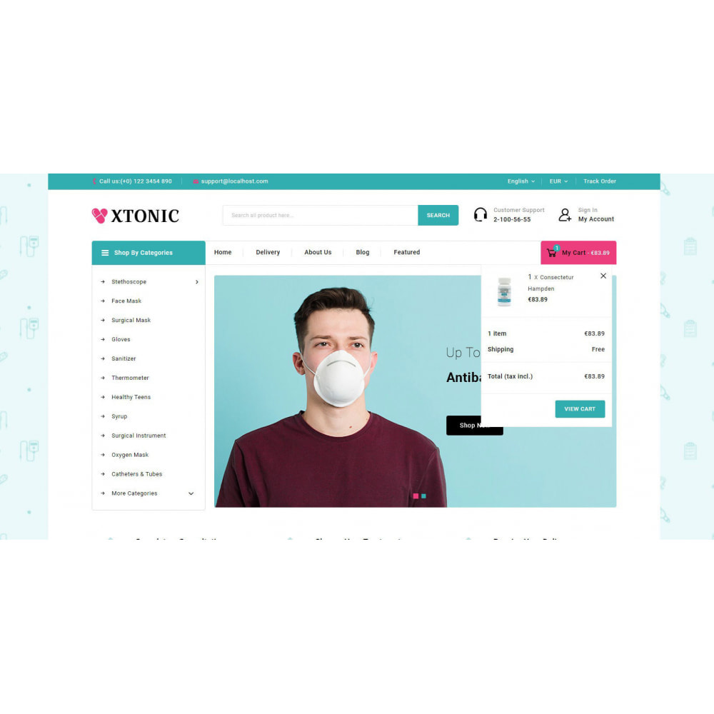 theme - Health & Beauty - Xtonic - Medicine Store - 7