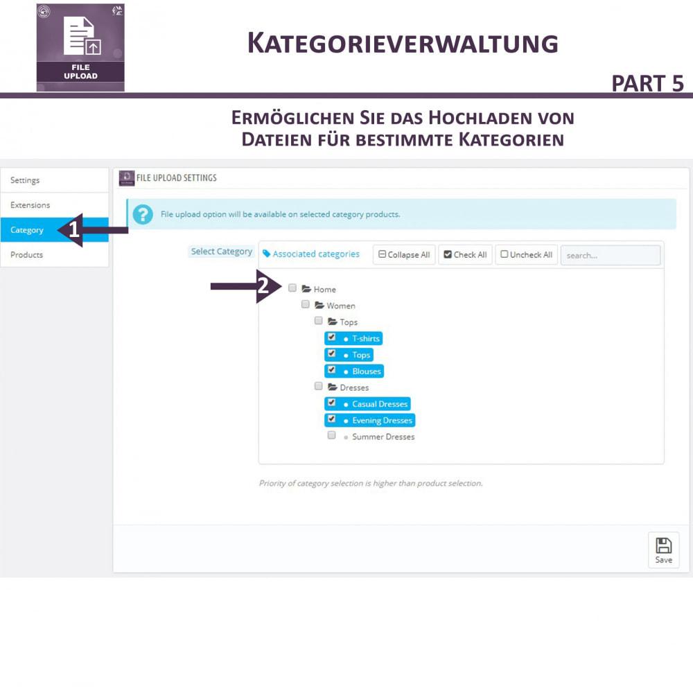 module - Zusatzinformationen & Produkt-Tabs - Datei-Upload durch den Kunden - 12