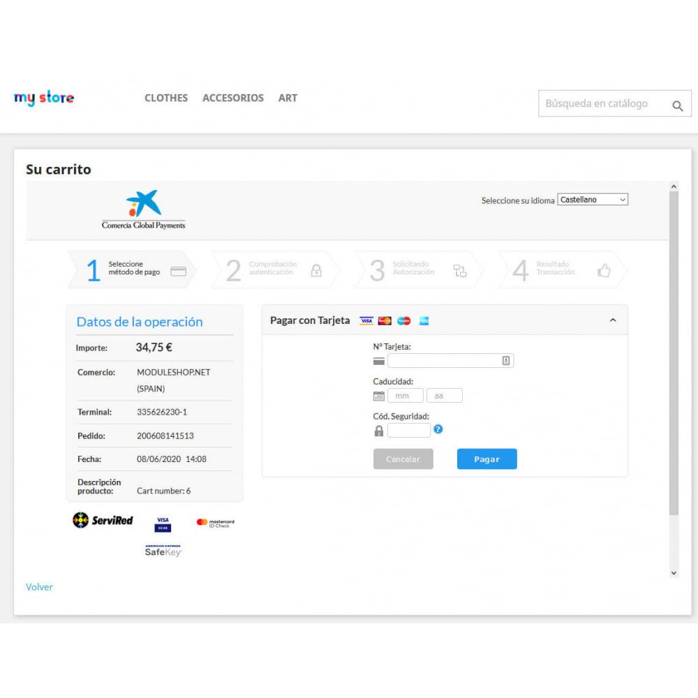 module - Pago con Tarjeta o Carteras digitales - TPV REDSYS (Devoluciones + Bizum + Pago sin pedido) - 4