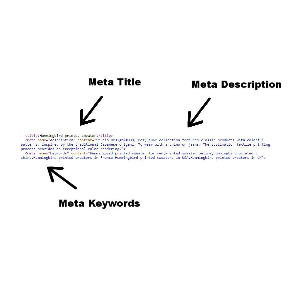 module - Dodatkowe informacje & Zakładka produktu - Mass Meta Edit - 3