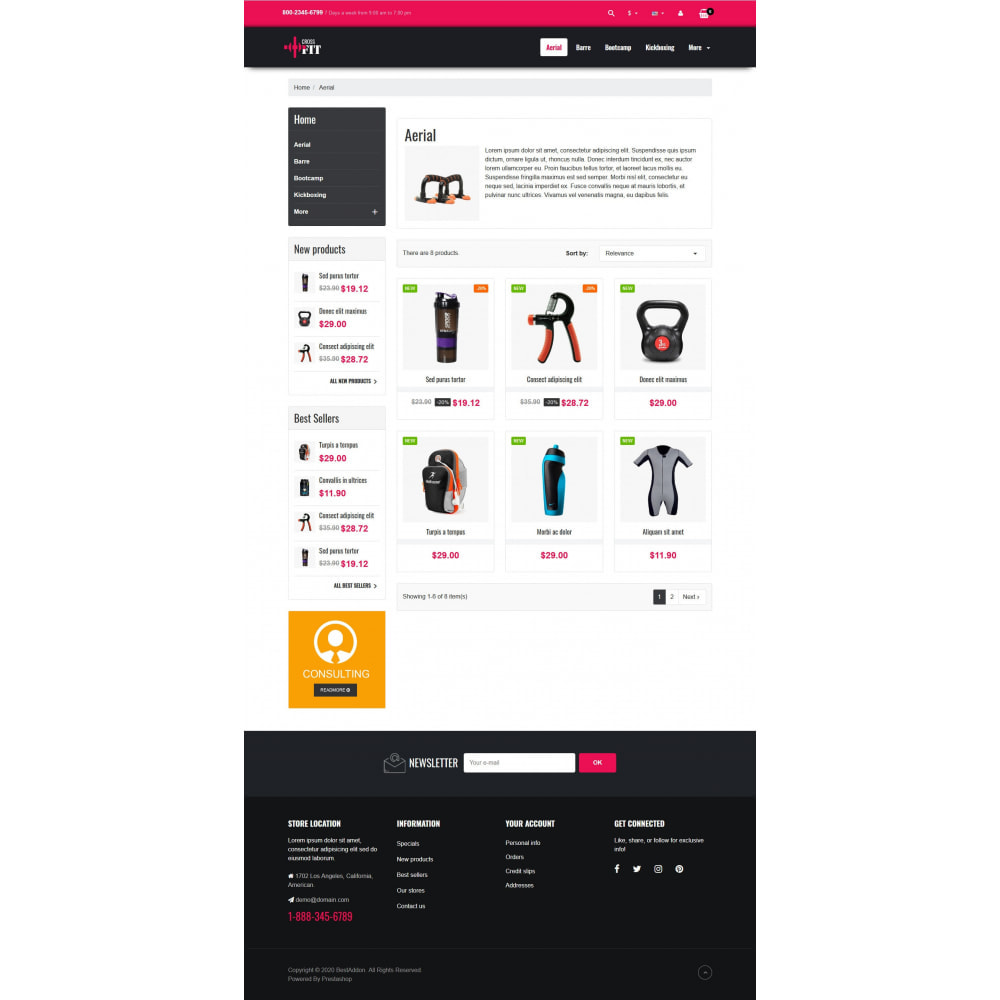 theme - Sports, Activities & Travel - VP_Crossfit - Page Builder - 3