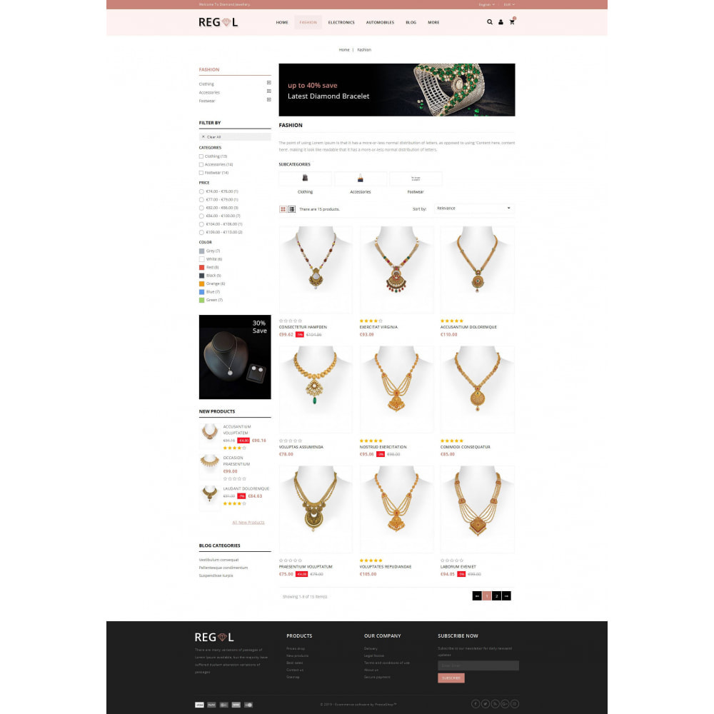 theme - Animaux - Regal - Jewellery Store - 3