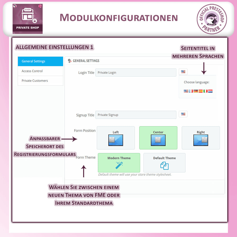 module - Flash & Private Sales - Privater Shop - Login, um Den Store zu Sehen - 6
