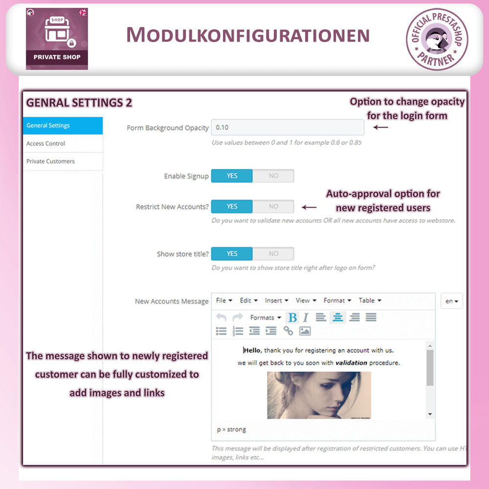 module - Flash & Private Sales - Privater Shop - Login, um Den Store zu Sehen - 7