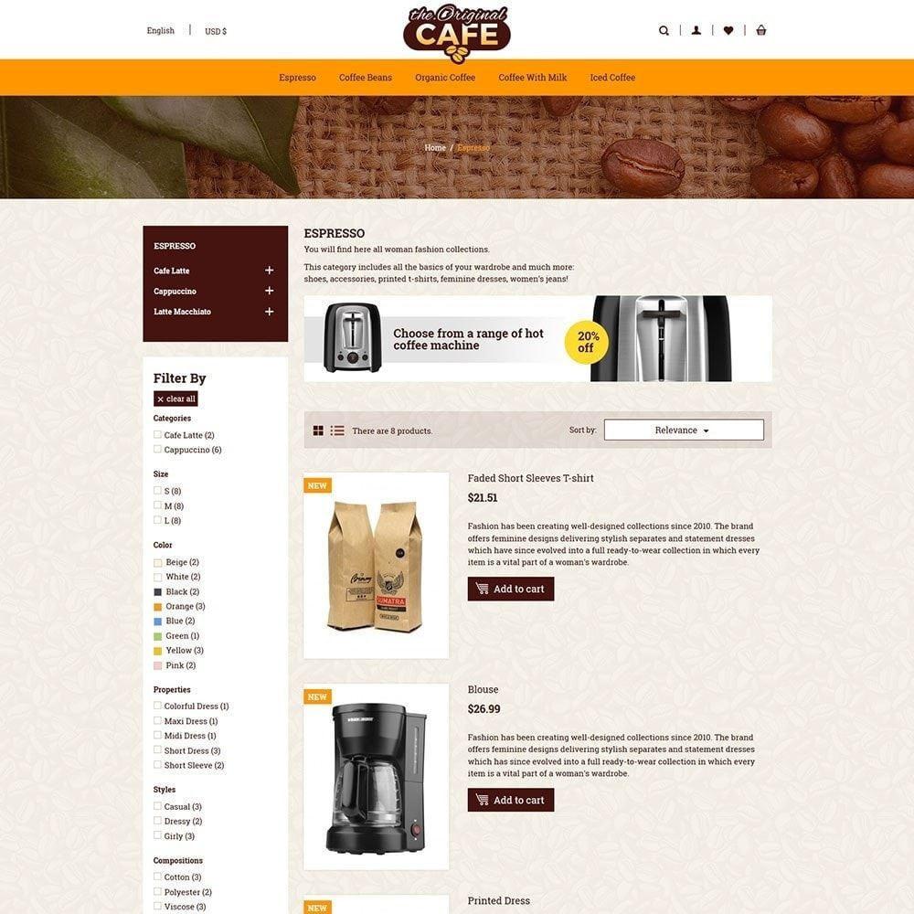 theme - Drink & Tobacco - Coffee Drink - Milk Tea Cafe Store - 3