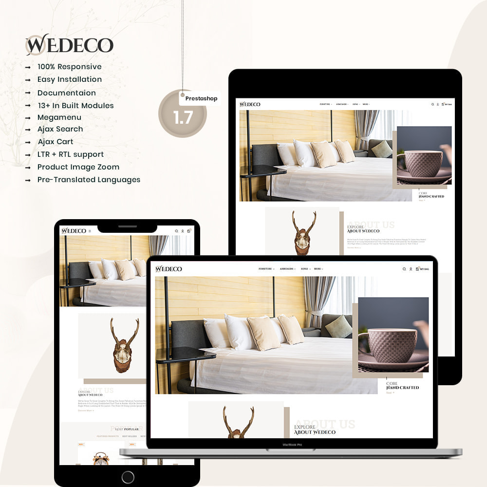 theme - Home & Garden - Wedeco - Furniture & Home Decor Store - 1