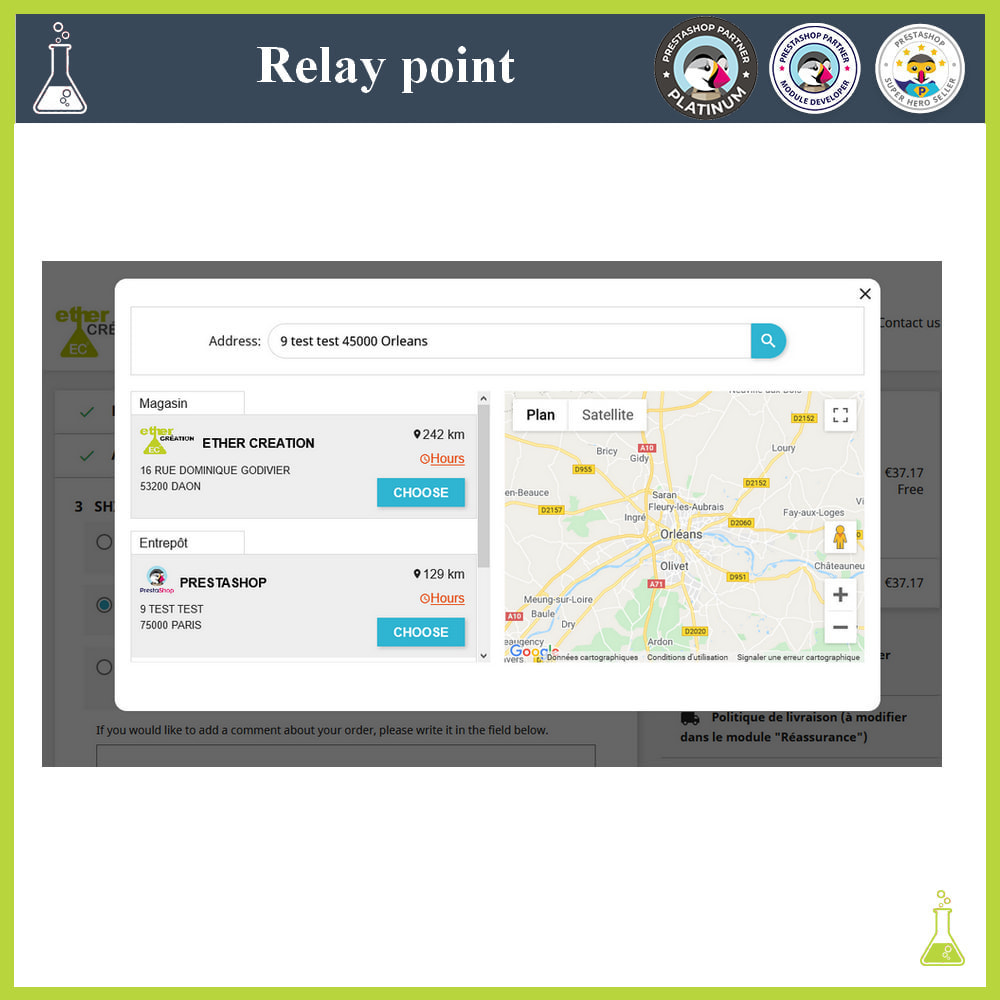 module - Abholstationen & Selbstabholer - Manage your relay points - 3