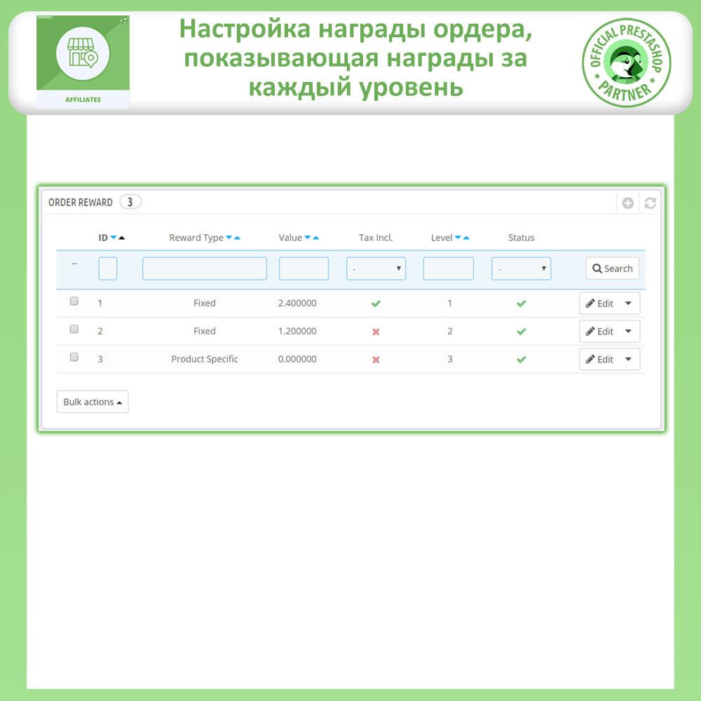 module - Платная поисковая оптимизация - Партнерская и реферальная программа - 18
