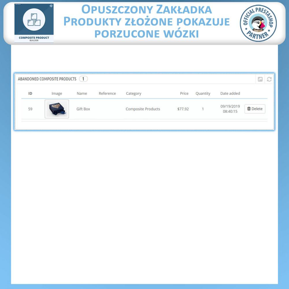 module - Sprzedaż krzyżowa & Pakiety produktów - Konstruktor Produktów Kompozytowych - 12