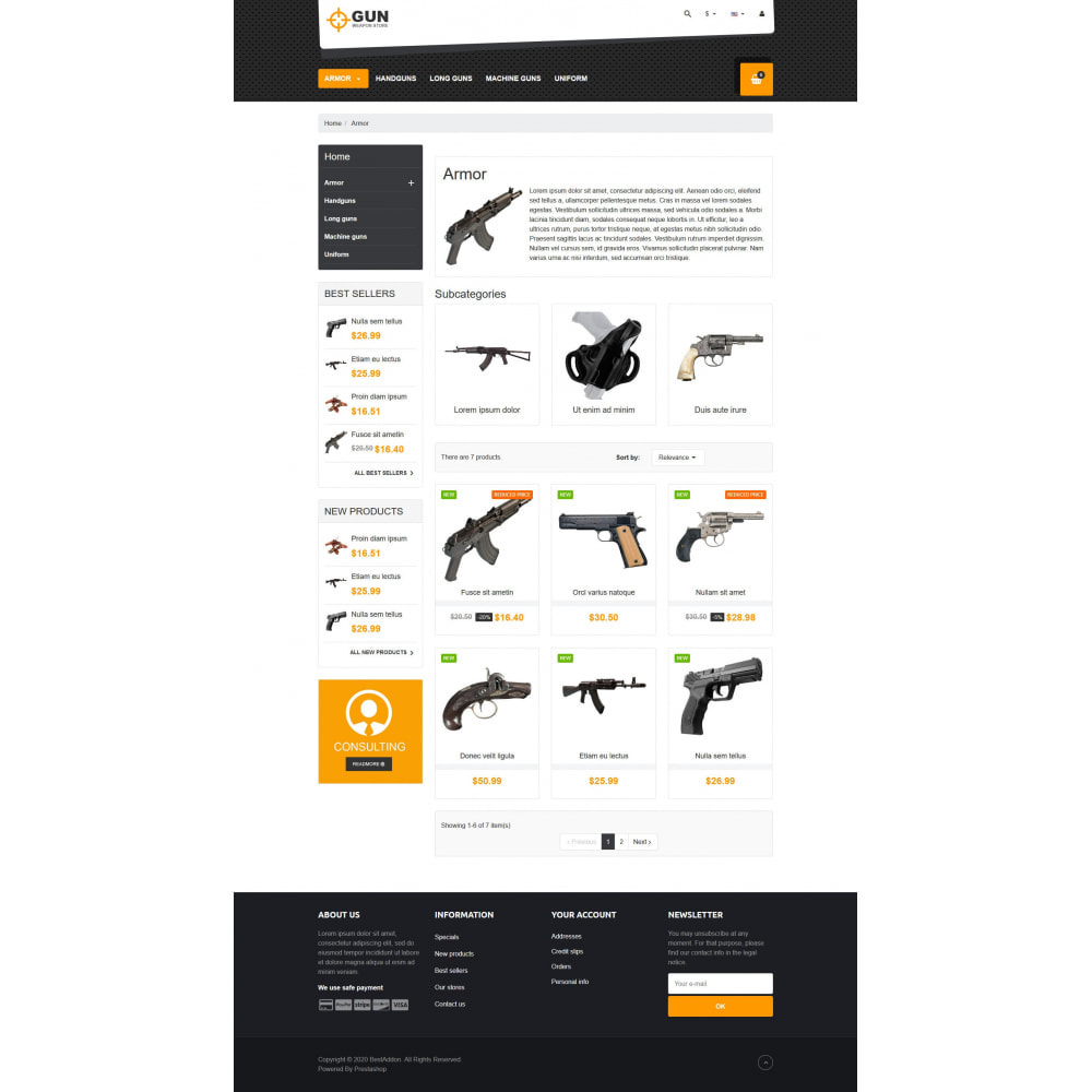 theme - Art & Culture - VP_Gun - Page Builder - 3