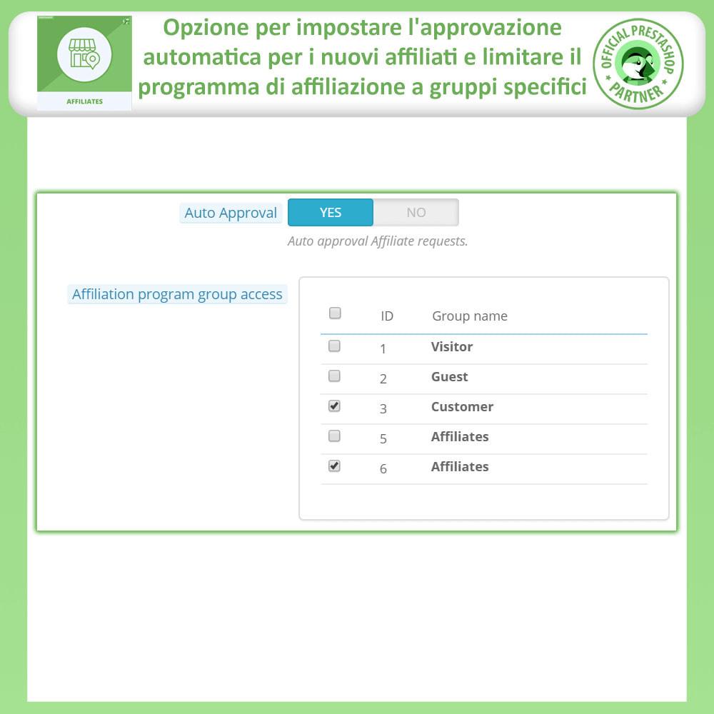 module - Indicizzazione a pagamento (SEA SEM) & Affiliazione - Modulo Pro Affiliati - 14