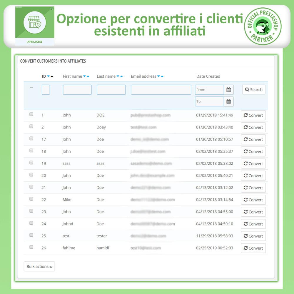 module - Indicizzazione a pagamento (SEA SEM) & Affiliazione - Modulo Pro Affiliati - 25