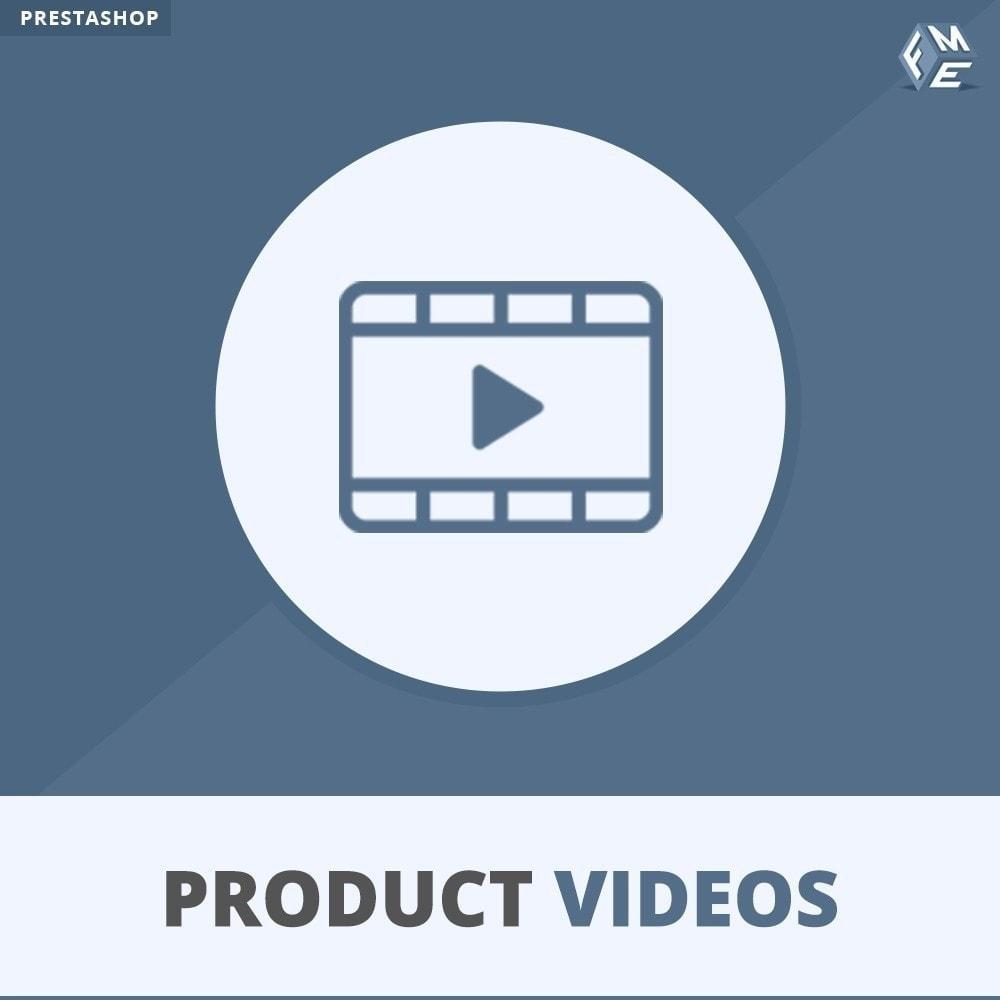 module - Wideo & Muzyka - Product Videos - Upload or Embed YouTube, Vimeo - 1