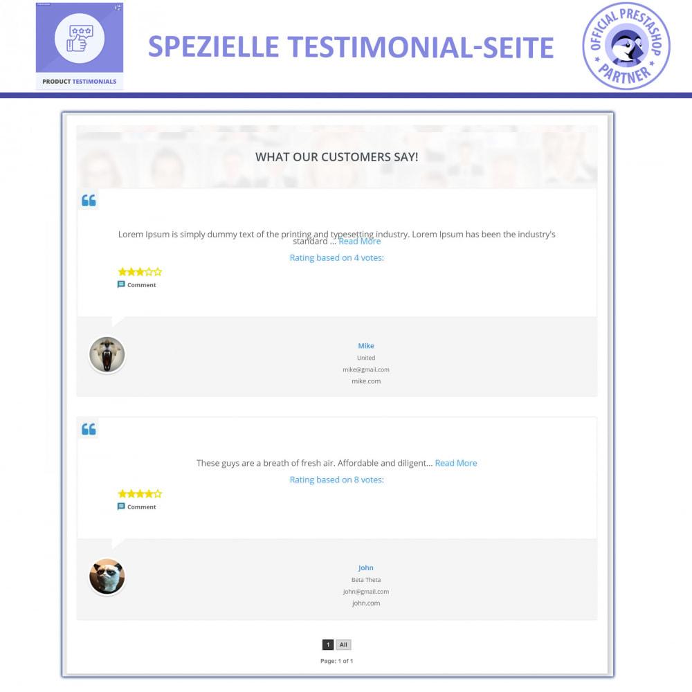 module - Kundenbewertungen - Kunden Produktbewertungen + Shop Bewertungen - 4