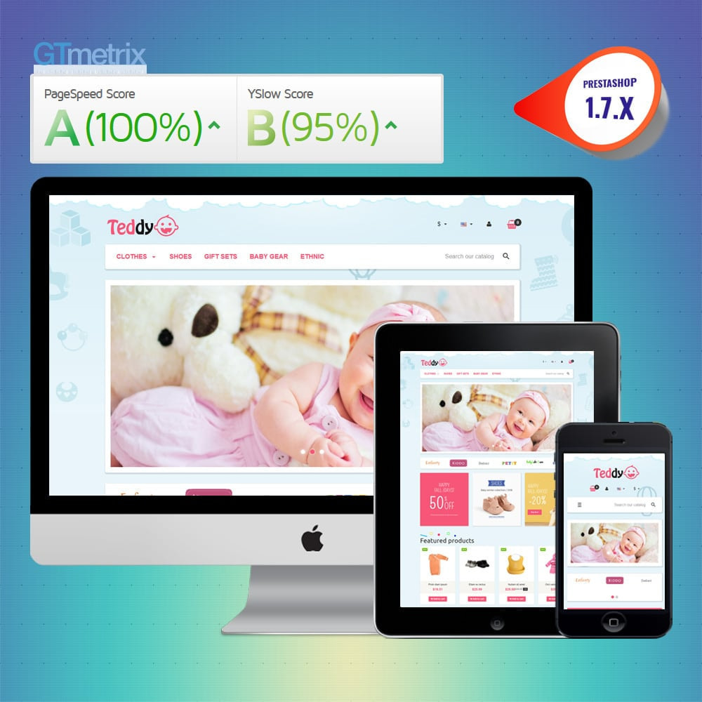 theme - Kids & Toys - VP_Teddy - Page Builder - 1