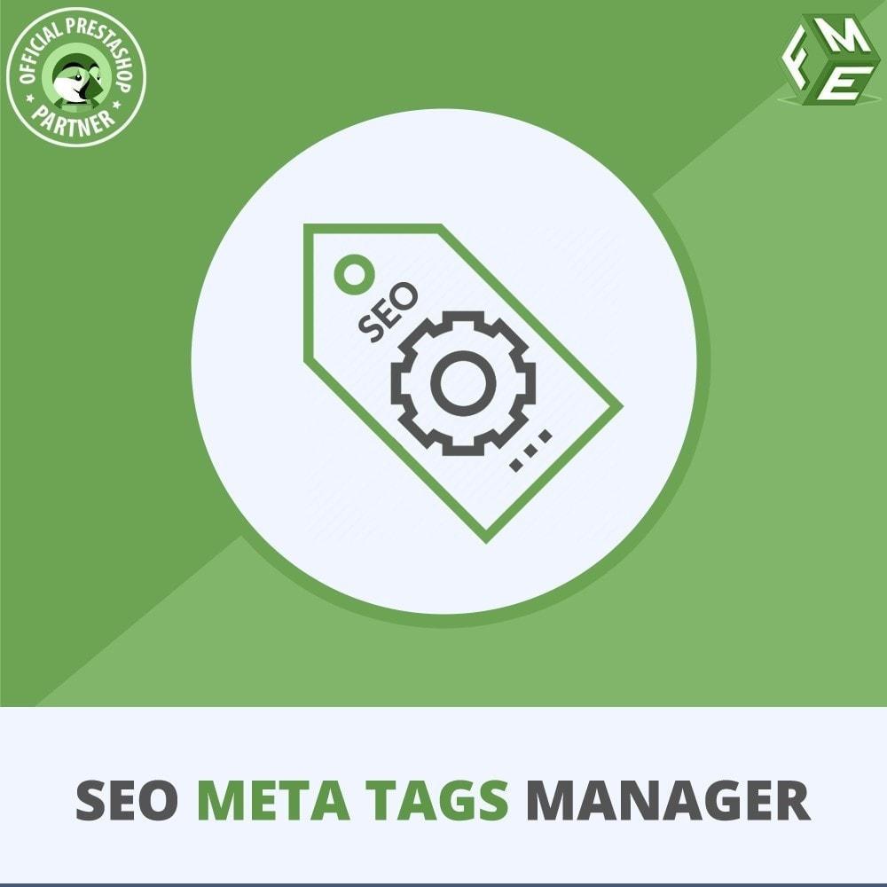 module - SEO (Pozycjonowanie naturalne) - Meta Tag Manager - AutoGenerate Tytuł i Opis SEO - 1
