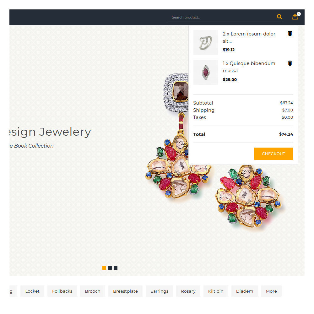 theme - Jewelry & Accessories - Aure Jewelry & Accessories Shop - 7