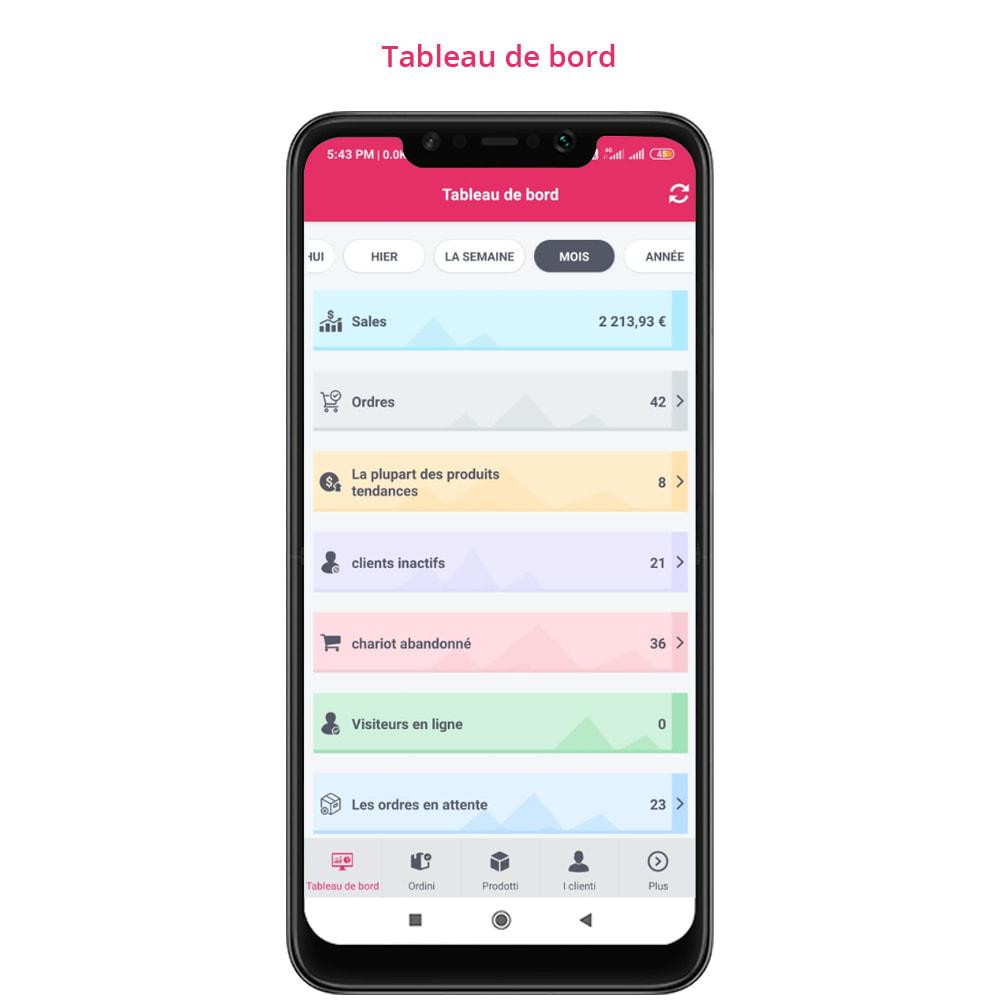 module - Mobile - FE Presta Admin App - admin de magasin facile à gérer - 11