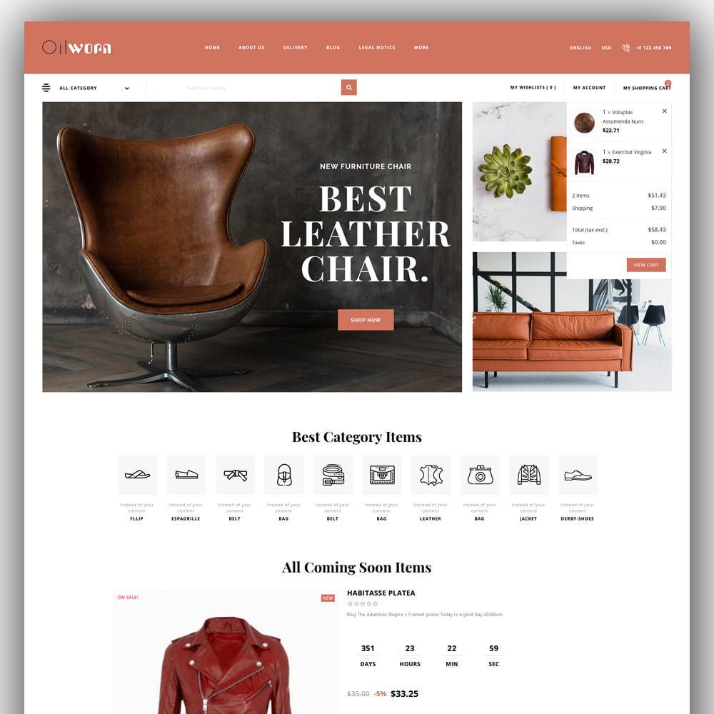 theme - Мода и обувь - Oilworn - Leather Store - 3