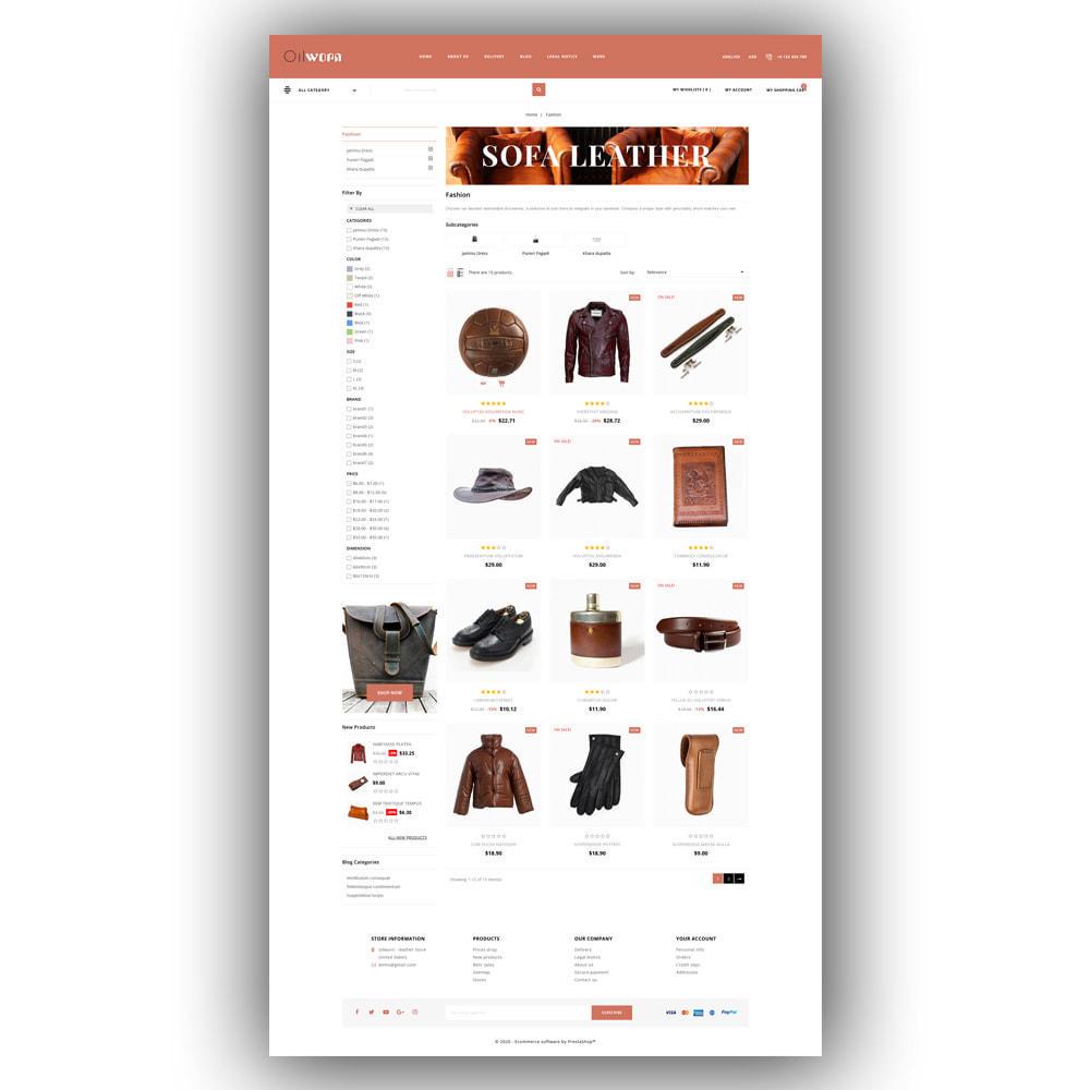 theme - Мода и обувь - Oilworn - Leather Store - 4
