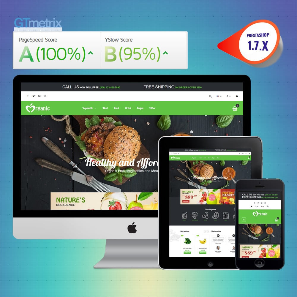 theme - Lebensmittel & Restaurants - VP_Organic - Page Builder - 1