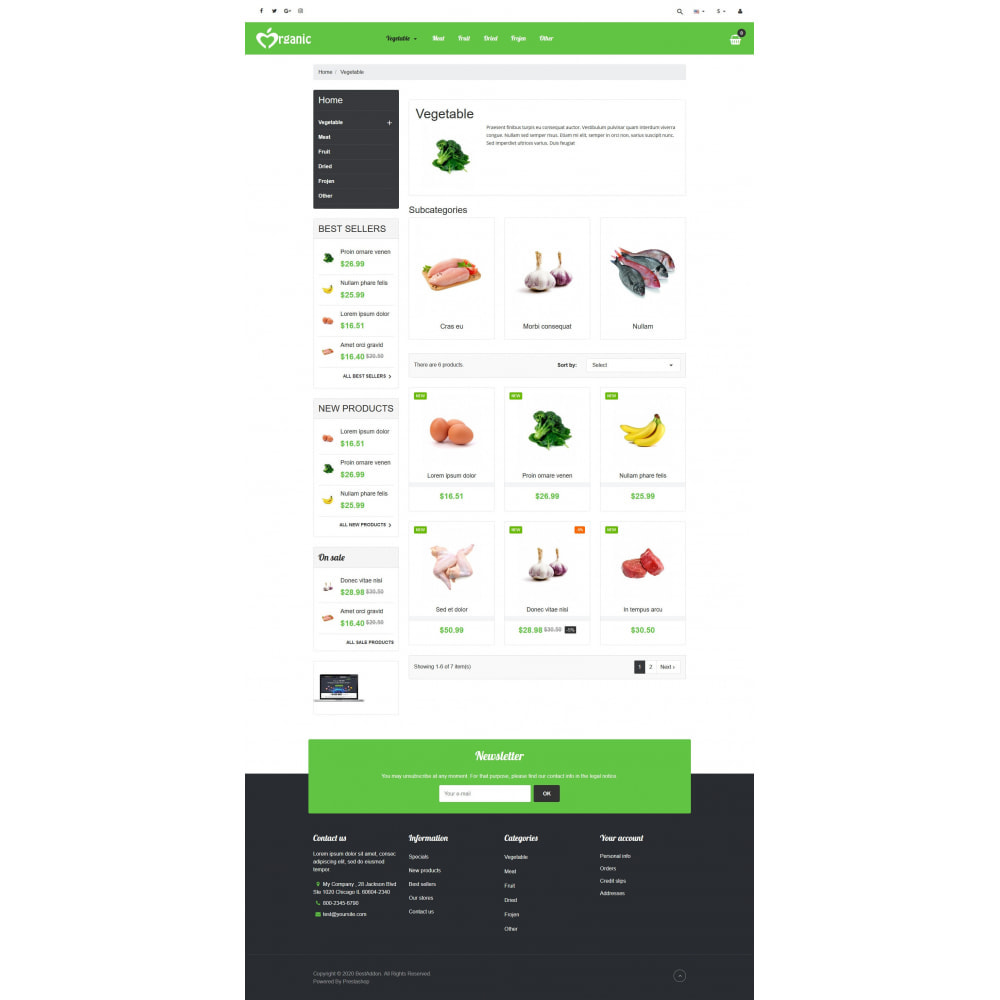 theme - Lebensmittel & Restaurants - VP_Organic - Page Builder - 3