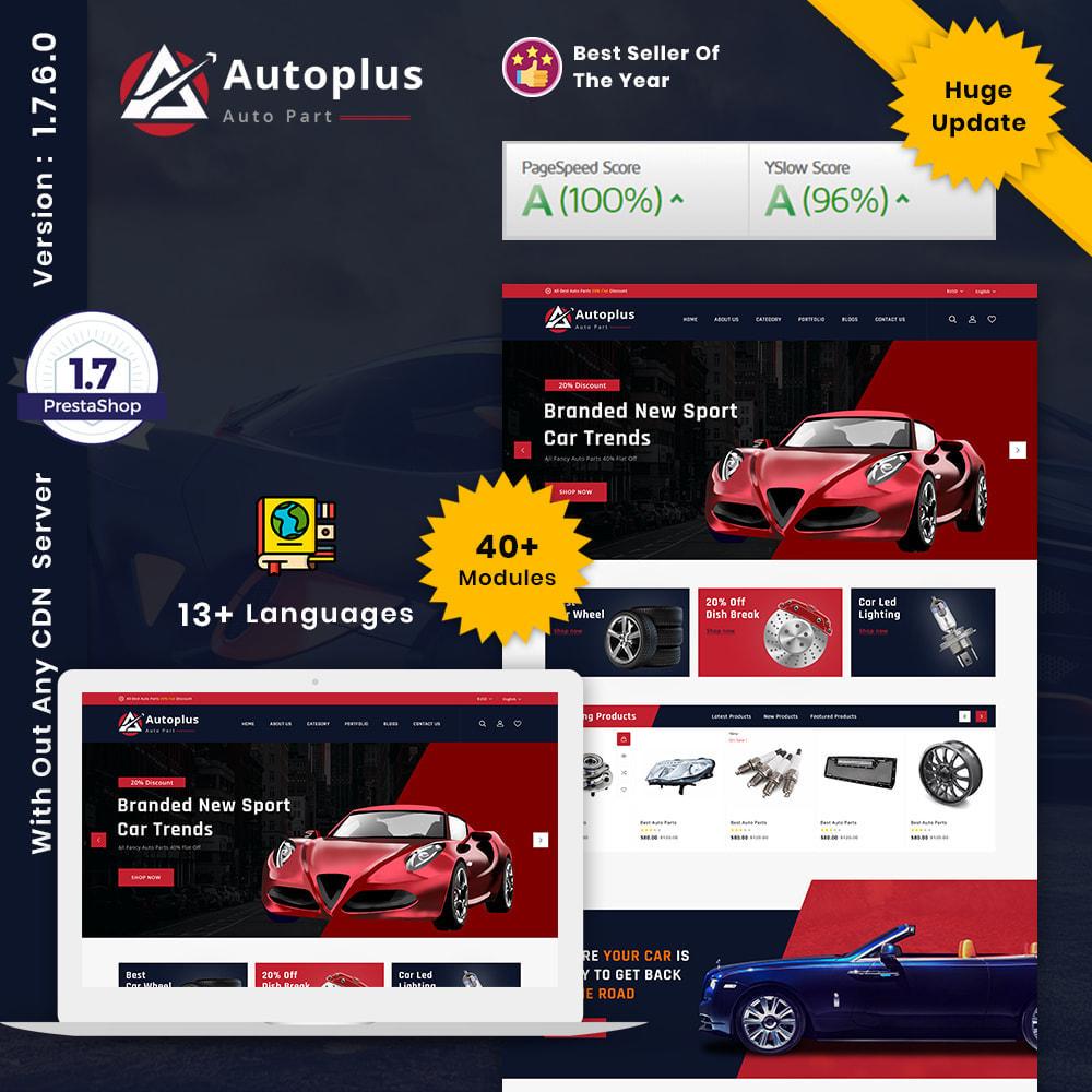 theme - Automotive & Cars - AutoPlus Autopart Store - 1