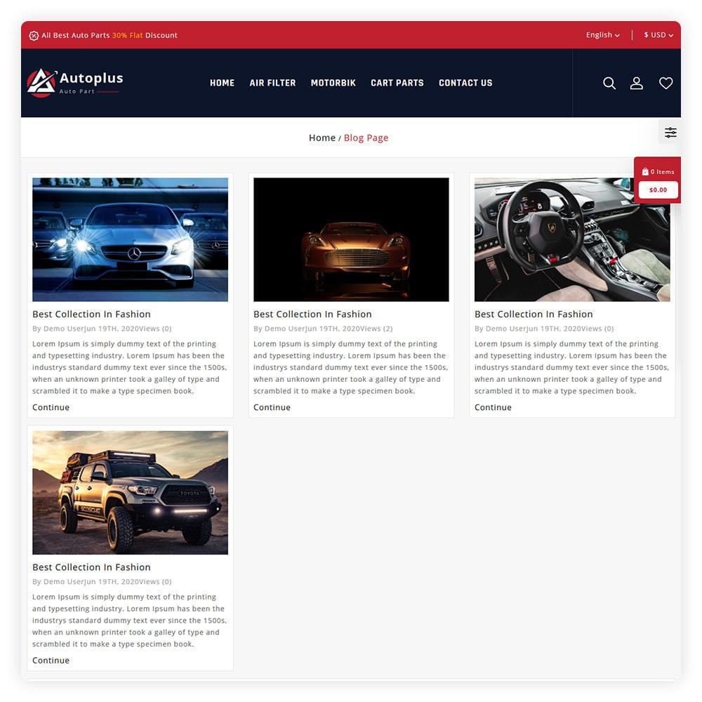 theme - Automotive & Cars - AutoPlus Autopart Store - 6