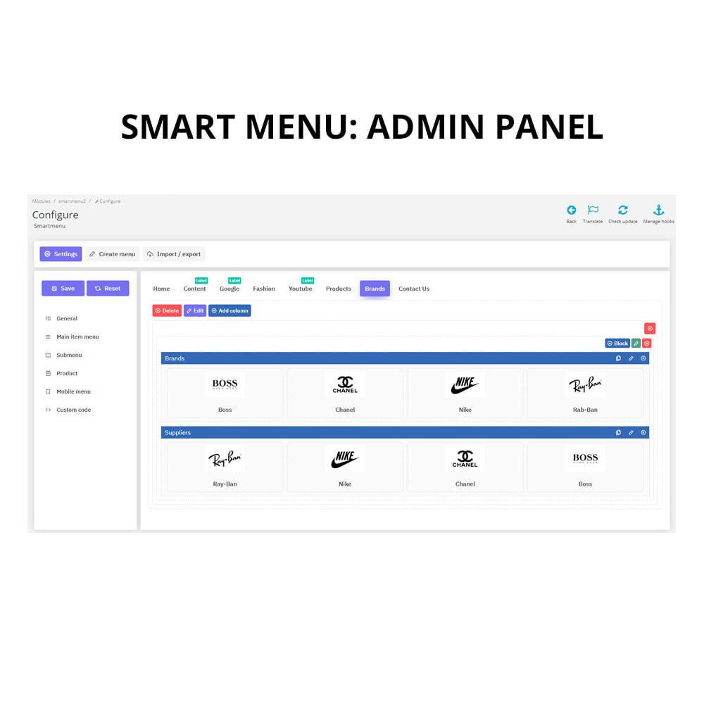 module - Menu - Smartmenu - super intuitive menu - 6