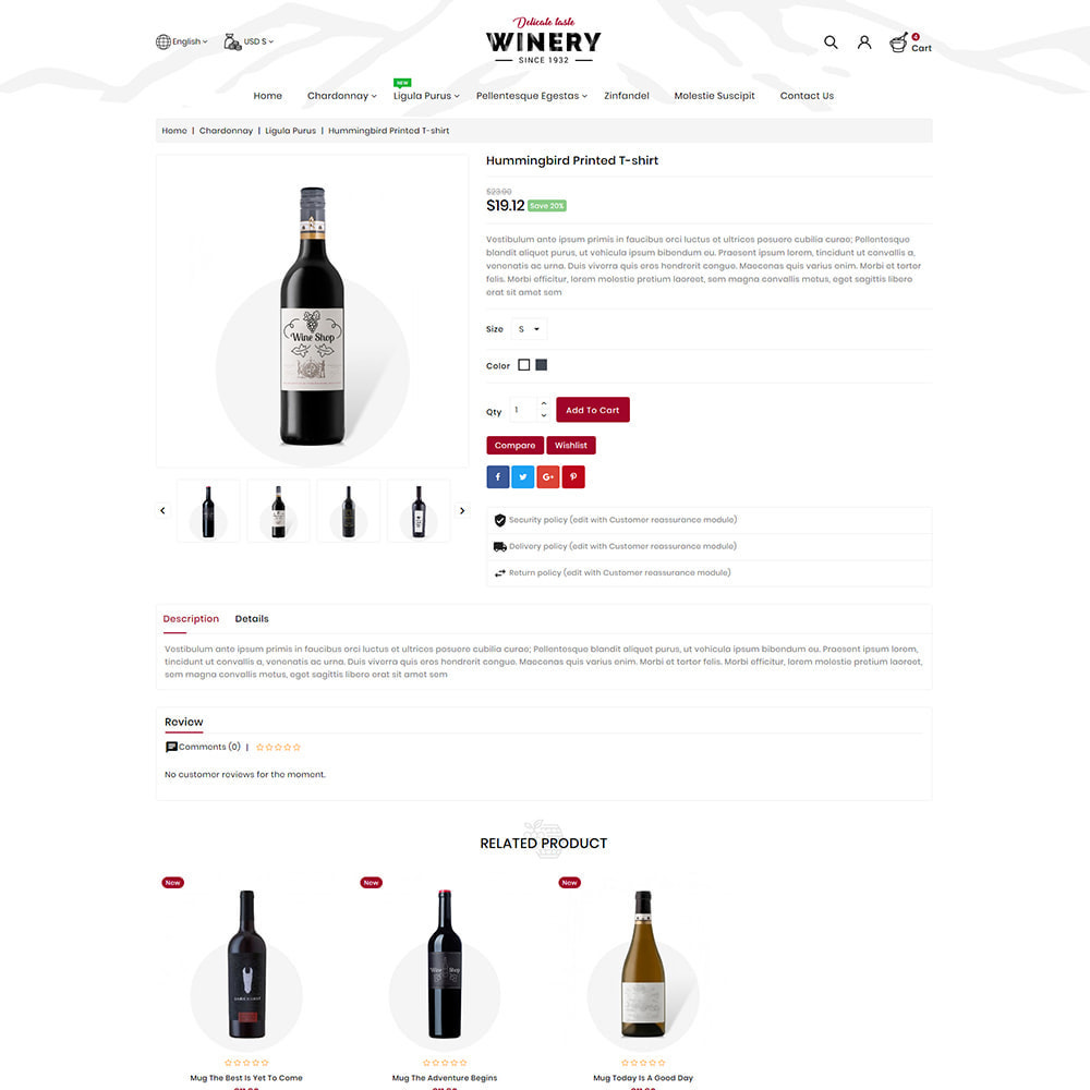 theme - Drink & Wine - Winery - Beer & Wine Store - 3