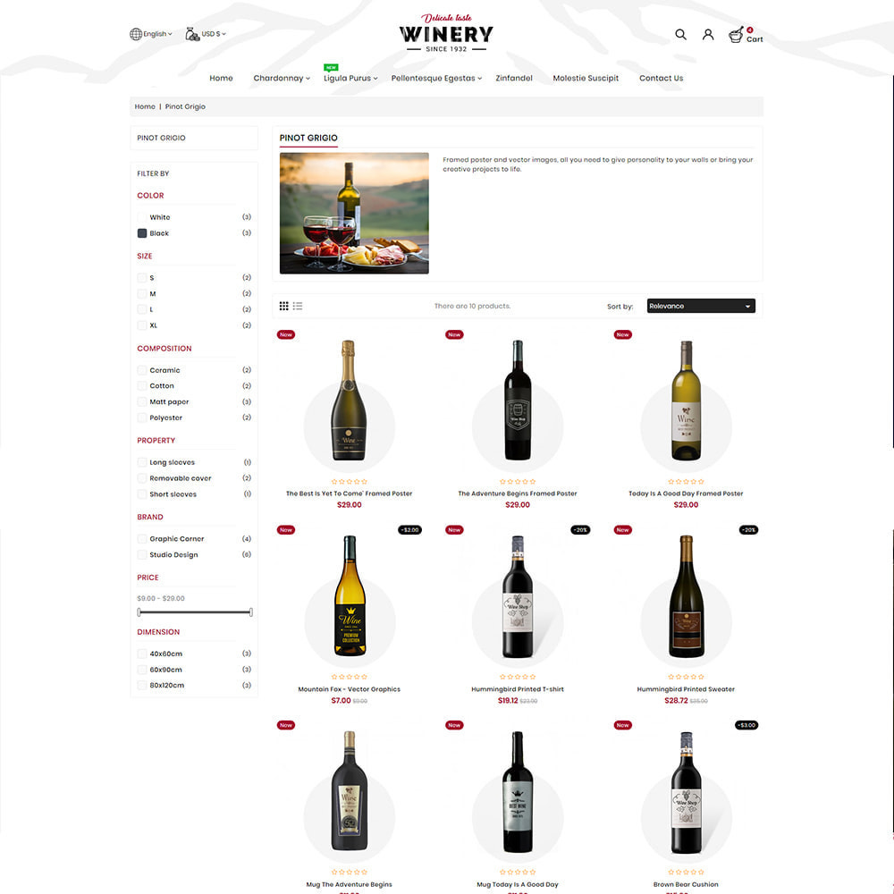 theme - Getränke & Tabak - Winey - Beer & Wine Store - 5