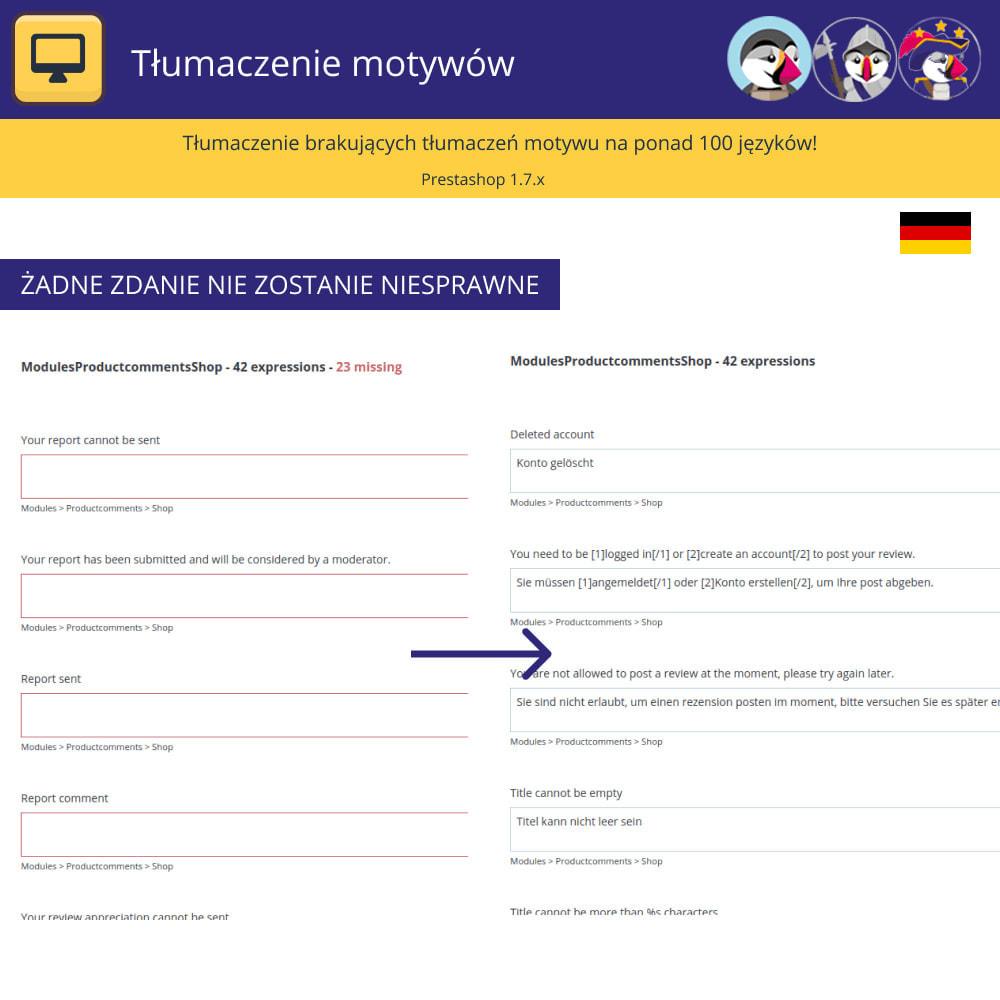 module - Międzynarodowość & Lokalizacja - Tłumaczenia tematów i e-maili - 2