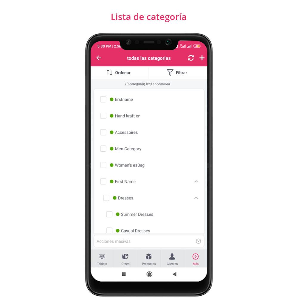 module - Dispositivos móviles - FE Presta Admin App - fácil a gestionar Tienda admin - 14